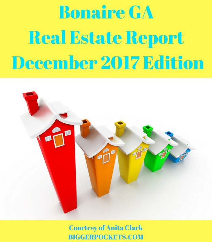 Bonaire ga real estate report december 2017 edition