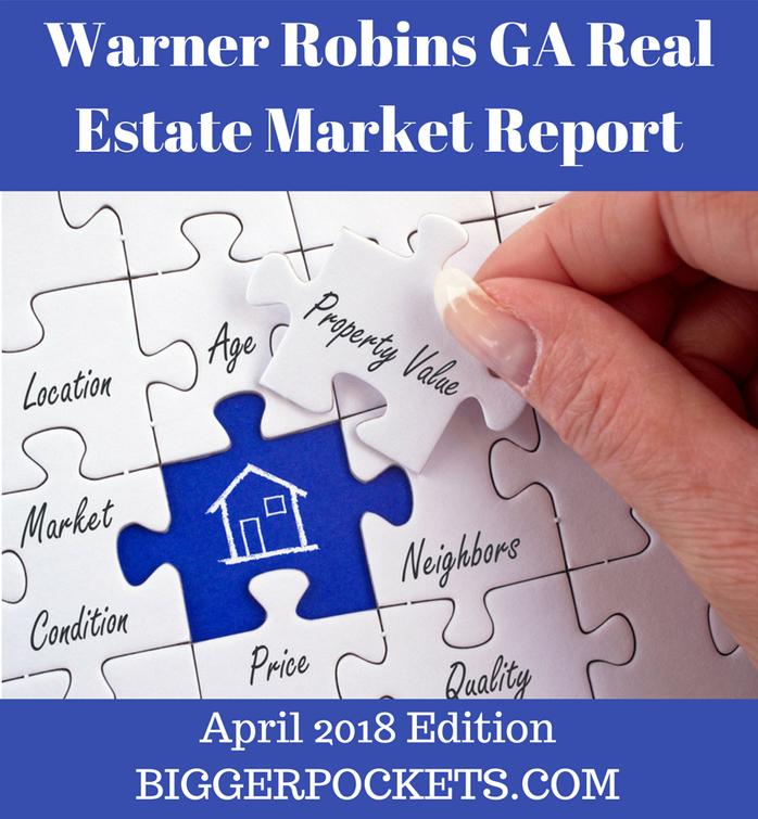 Warner robins ga real estate market report   april 2018 edition