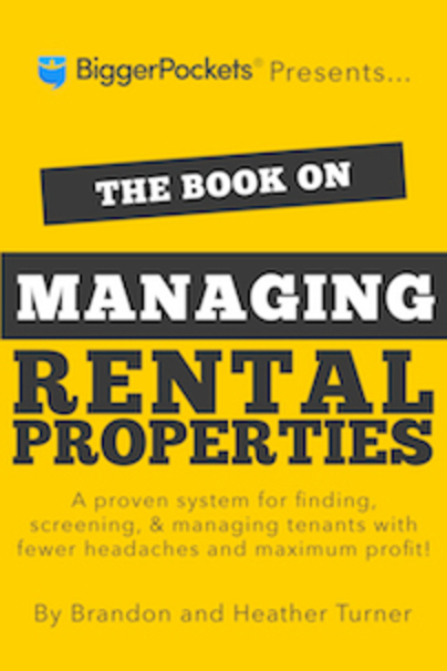 The Book on Managing Rental Property Logo