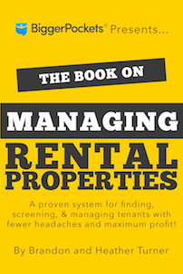 The Book on Managing Rental Property cover