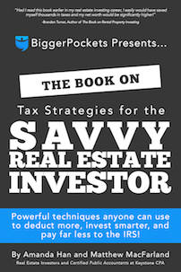 Medium book tax strategies for the savvy real estate investor