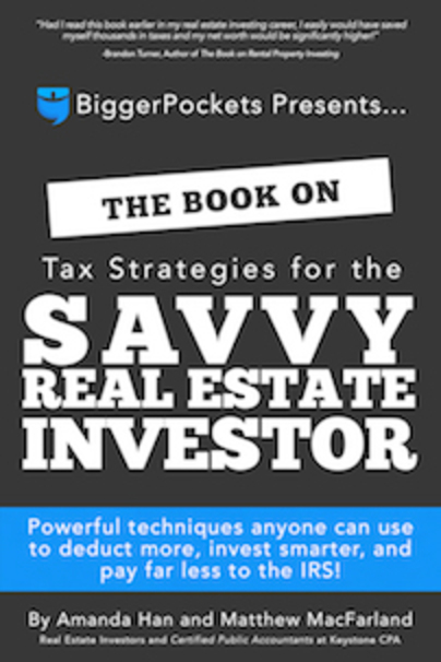 Large book tax strategies for the savvy real estate investor