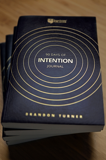 90 Days of Intention Journal book cover