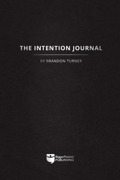 The Intention Journal book cover