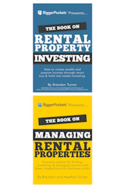 Large book rental porperty and managing rental properties