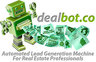 Medium dealbot businesscard logo white bkgd