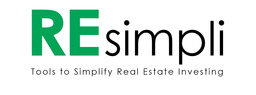 Large resimpli logo new  with tagline tools to simply real estate investing