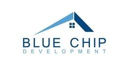 Large blue chip logo