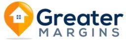Large greater margins logo