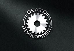 Large geard logo