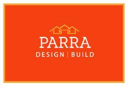 Large parra design   build logo