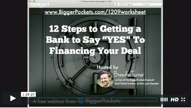 12 steps to getting a bank to say  yes  to financing your deal