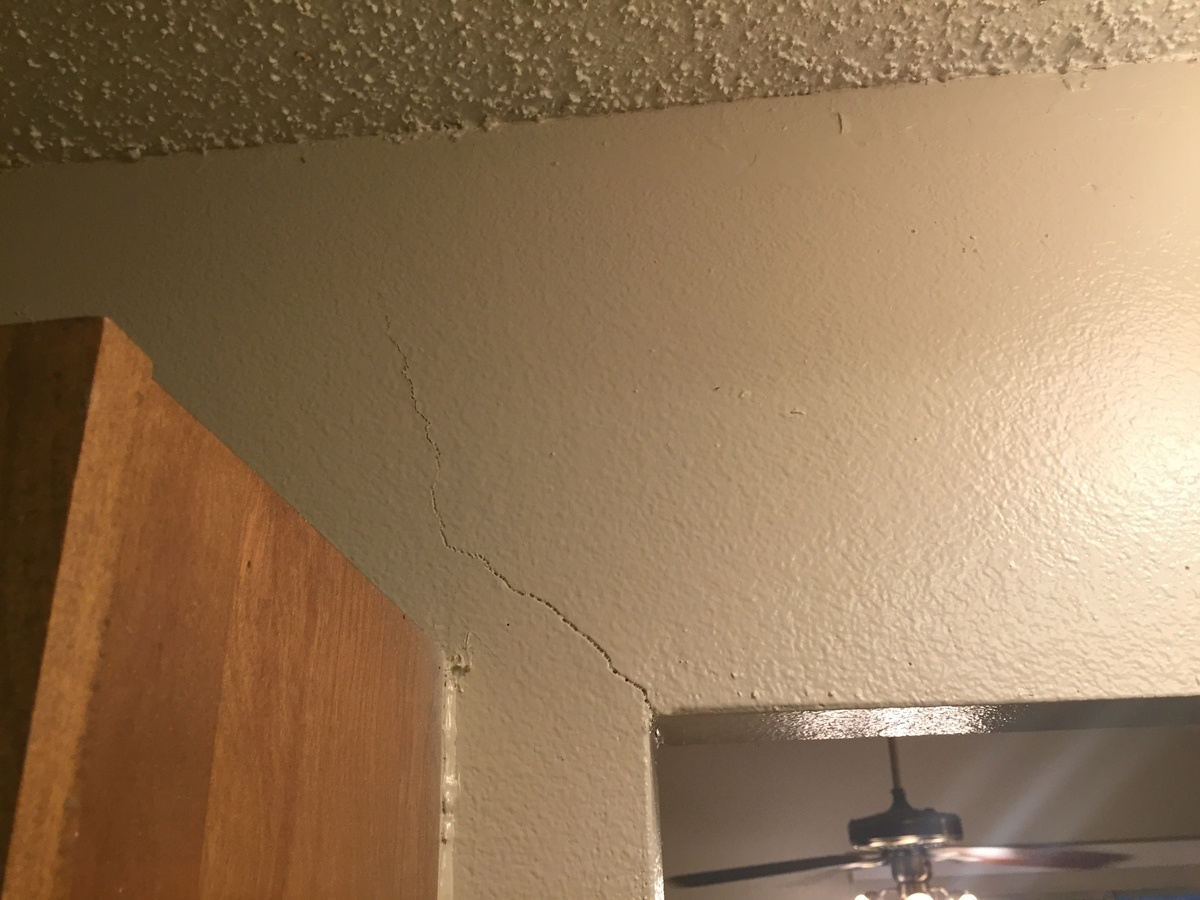 Are these drywall cracks a sign of something serious?