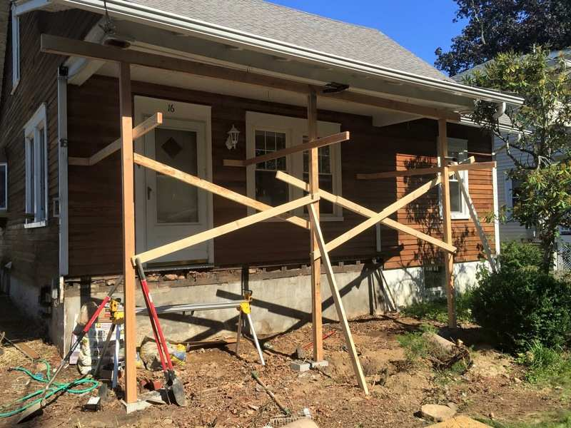 Sagging porch repair costs and cause john hickey investor from chappaqua new york solutioingenieria Gallery
