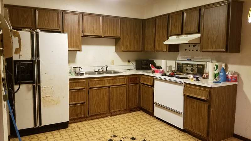 Replace Or Reface Laminate Cabinets For A Rental