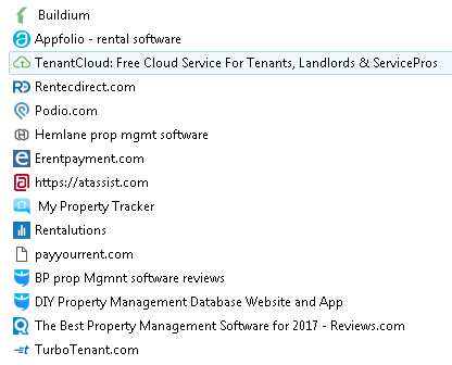 Software for Managing Rentals