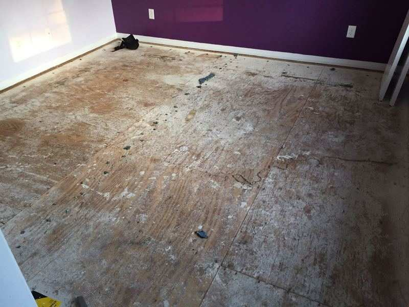 Subfloor For Click And Lock Vinyl Flooring