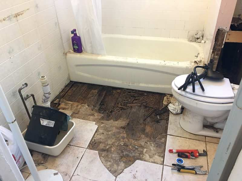Too Ambitious To Do Bathroom Repair