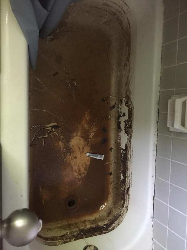 Most disgusting bathtub in America as told by Real Estate Investor James Wise from Holton-Wise