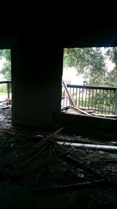rental property fire damage