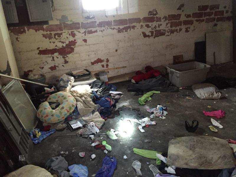 tenants destroy houses