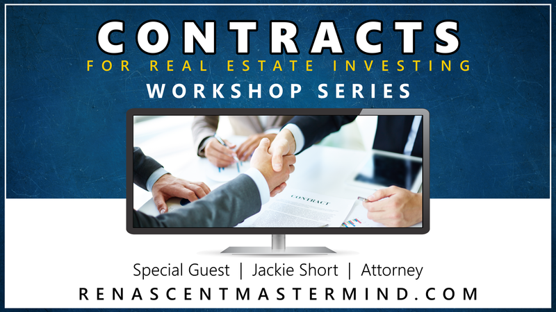 Contracts with Attorney Jackie Short at Renascent Mastermind