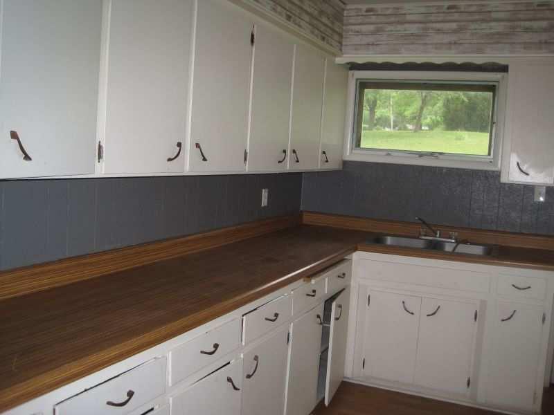 Kitchen Sink Under The Window