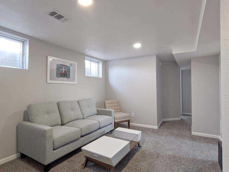 A basement apartment for Denver house hacking.
