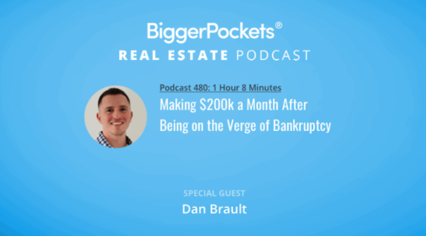 Video Thumbnail: BiggerPockets Podcast 480: Making $200k a Month After Being on the Verge of Bankruptcy