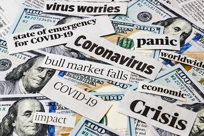 Coronavirus, covid-19 news headlines on United States of America