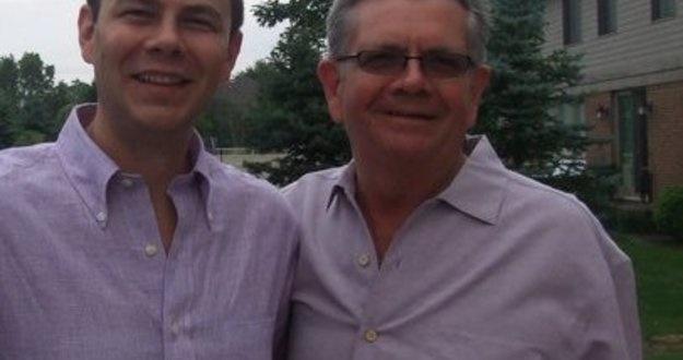 Kevin Kaczmarek and dad