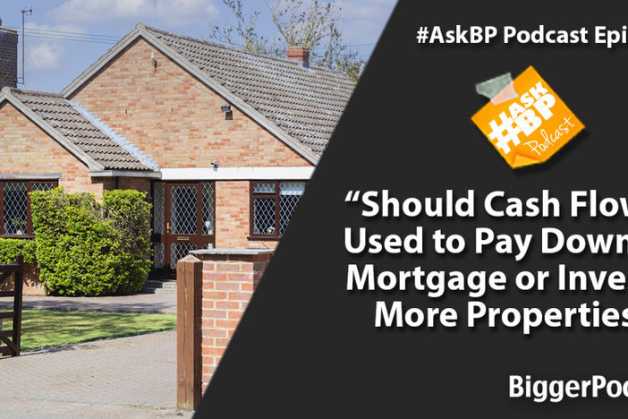 Should Cash Flow Be Used to Pay Down the Mortgage or Invest in More Properties?