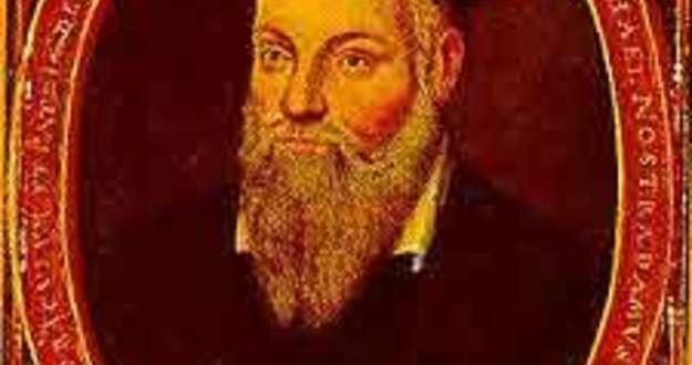 Nostradamus portrait by his son